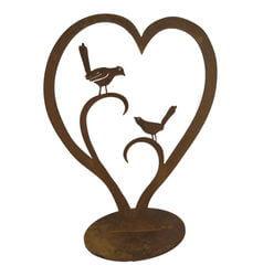 Love Birds Stand Garden Art
