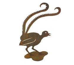 Lyrebird Stand Garden Art
