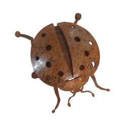 Ladybird Beetle Magnet Garden Art