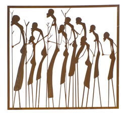 Massai Warriors Wall Art
