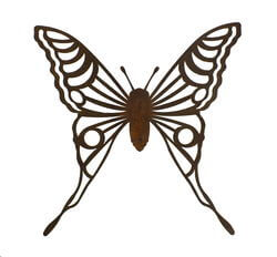 Medium Butterfly Magnet 3 Garden Art