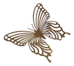 Medium Butterfly One Magnet Garden Art