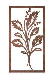 Mod Metal Garden Wall Art Panel Two