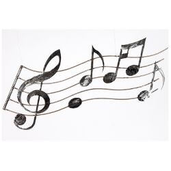 Music Metal Garden Wall Art