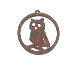 Owl Hanging Ornament Garden Art
