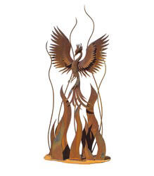 Phoenix Rising Sculpture