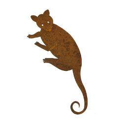 Ring tail Possum Metal Garden Art