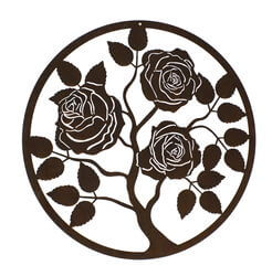 Rose Panel One Wall Art