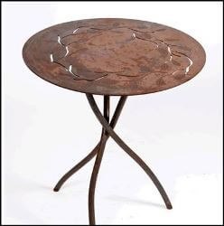 Round Branch Table