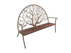 Round Tree Outdoor Garden Bench Seat