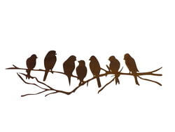 Seven Birds Wall Art