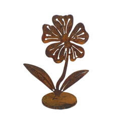 Small Flower on Stand Garden Art