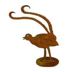 Small Lyrebird Stand Garden Art