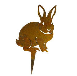 Small Rabbit Stand Garden Art