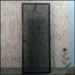 Spider web Door