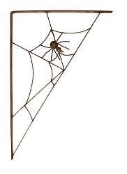 Spiderweb Bracket Garden Art