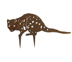 Spotted Quoll Stake Garden Art