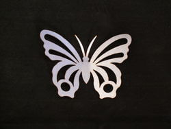 Stainless Steel Butterfly Magnet Garden Art