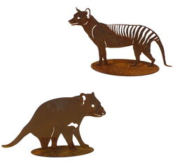 Tassie Icons Set Medium Garden Art