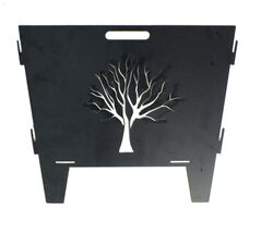Tree Fire Pit Portable Garden Art
