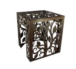 Tree Metal Garden Stool