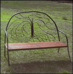 Tree Outdoor Garden Bench Seat