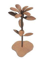 Whimsical Flower Metal Garden Art