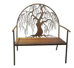 Willow Outdoor Garden Bench Seat