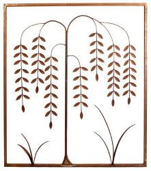 Willow Tree Metal Garden Wall Art