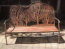 Winter Trees Seat