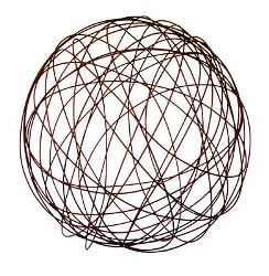 Wire Ball  Sculpture