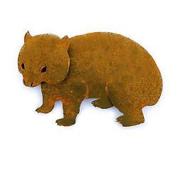 Wombat Magnet Garden Art