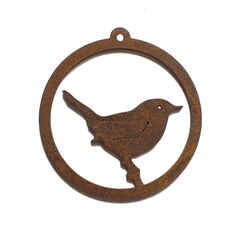 Wren Hanging Ornament Garden Art