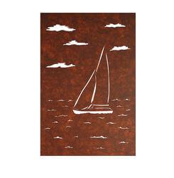 Yacht Panel Metal Garden Wall Art 1