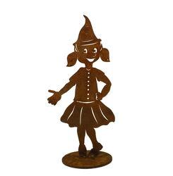 Christmas Elf Girl Stand Small One Garden Art